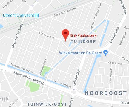 Google maps Paulus kerk